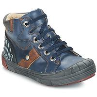 鞋子 男孩 高幫鞋 GBB RENZO 藍色