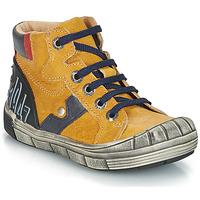 鞋子 男孩 短筒靴 GBB RENZO 黄色