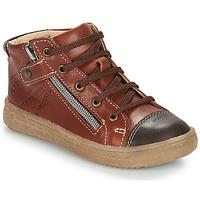鞋子 男孩 短筒靴 GBB NICO 棕色