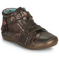 鞋子 女孩 短筒靴 Catimini ROQUETTE Vte / 棕铜色