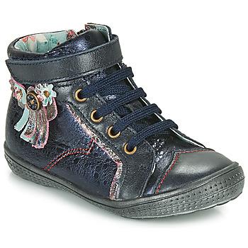 鞋子 女孩 短筒靴 Catimini ROSIER 海藍色