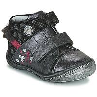 鞋子 女孩 短筒靴 Catimini ROSSIGNOL 灰色 / 银灰色