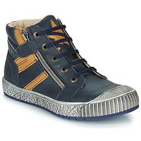 鞋子 男孩 短筒靴 Catimini RAMBOUTAN 蓝色