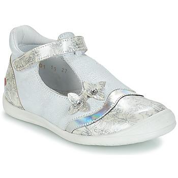 鞋子 女孩 平底鞋 GBB SERENA 白色