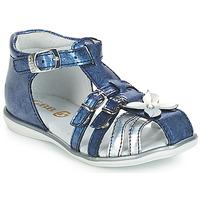 鞋子 女孩 凉鞋 GBB SHANICE VVN BLEU-IMPRIME DPF/RENSA
