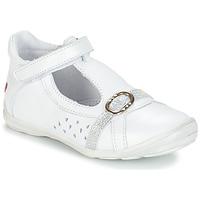 鞋子 女孩 平底鞋 GBB SALOME 白色