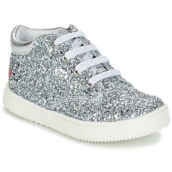鞋子 女孩 短筒靴 GBB SACHA 银色