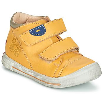 鞋子 男孩 短筒靴 GBB SAMY Vte / 黄色 / 雪白色