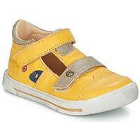 鞋子 女孩 平底鞋 GBB STEVE 黄色