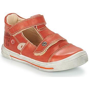 鞋子 女孩 平底鞋 GBB STEVE 红色