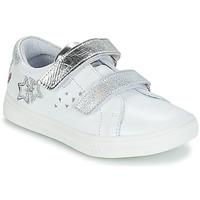 鞋子 女孩 球鞋基本款 GBB SANDRA 白色 / 银灰色