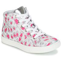 鞋子 女孩 高幫鞋 GBB SERAPHINE 灰色 / 玫瑰色 / 白色