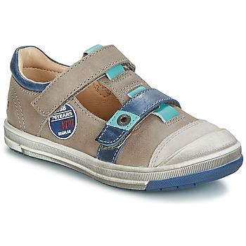 鞋子 女孩 平底鞋 GBB SCOTT 灰色 / 蓝色