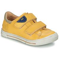 鞋子 男孩 短筒靴 GBB SEBASTIEN Vte / 黄色 / 雪白色