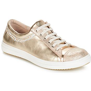 鞋子 女孩 短筒靴 GBB GINA Vte / 米色-金色