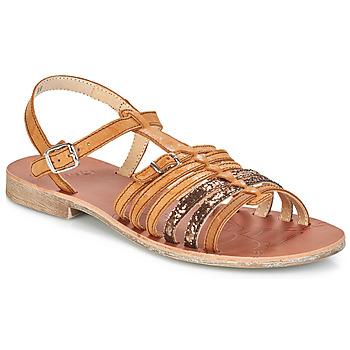 鞋子 女孩 凉鞋 GBB BANGKOK 棕色