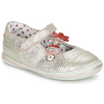 鞋子 女孩 平底鞋 Catimini STROPHAIRE 玫瑰色