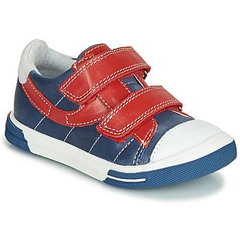 鞋子 男孩 球鞋基本款 Catimini SORBIER 蓝色 / 红色
