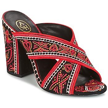 鞋子 女士 凉鞋 Ash 艾熙 LOLA 黑色 / 红色