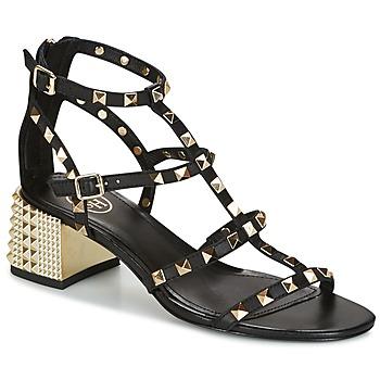 鞋子 女士 凉鞋 Ash 艾熙 ROLLS 黑色