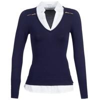 衣服 女士 羊毛衫 Morgan MYLORD 海藍色 / 白色