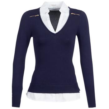 衣服 女士 羊毛衫 Morgan MYLORD 蓝色 / 白色