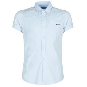 衣服 男士 短袖衬衫 Kaporal LOGIK 蓝色