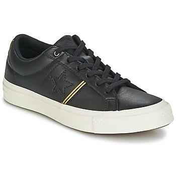 鞋子 球鞋基本款 Converse 匡威 One Star 黑色