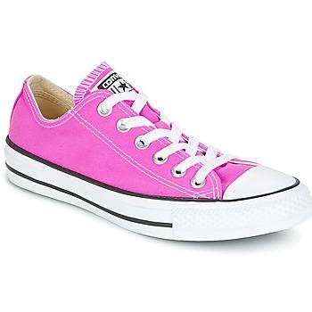 鞋子 女士 球鞋基本款 Converse 匡威 Chuck Taylor All Star Ox Seasonal Colors 玫瑰色