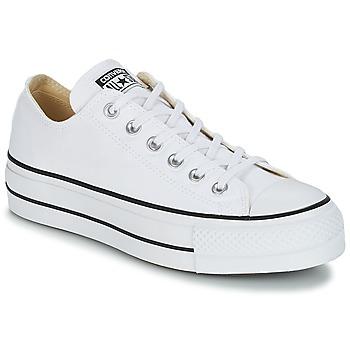 鞋子 女士 球鞋基本款 Converse 匡威 Chuck Taylor All Star Lift Clean Ox Core Canvas 白色