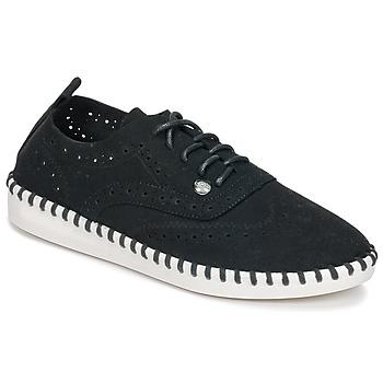 鞋子 女士 帆布便鞋 Les P'tites Bombes DIVA 黑色