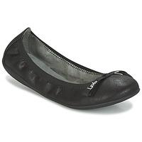 鞋子 女士 平底鞋 Les P'tites Bombes ELLA VELOUR 黑色