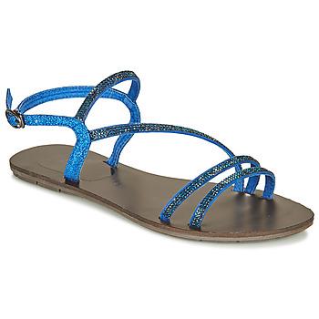 鞋子 女士 凉鞋 Les P'tites Bombes NELLY 蓝色