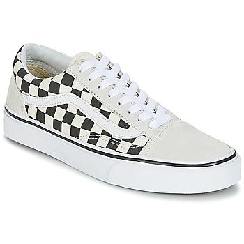 鞋子 球鞋基本款 Vans 范斯 OLD SKOOL 白色 / 黑色