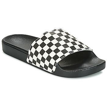 鞋子 男士 休闲凉拖/沙滩鞋 Vans 范斯 MN SLIDE-ON 黑色