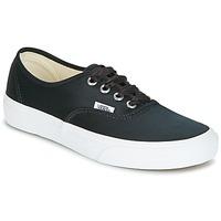 鞋子 女士 球鞋基本款 Vans 范斯 AUTHENTIC 黑色