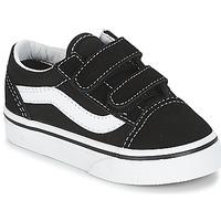 鞋子 儿童 球鞋基本款 Vans 范斯 OLD SKOOL V 黑色