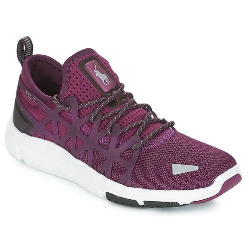 鞋子 女士 球鞋基本款 Polo Ralph Lauren TRAIN 200 紫罗兰