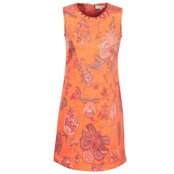 衣服 女士 短裙 Derhy ANTILLAIGAN 橙色