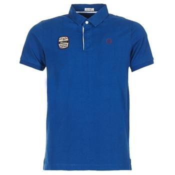 衣服 男士 短袖保羅衫 Serge Blanco DOSSART 15 藍色