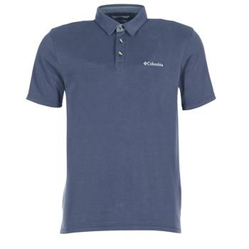 衣服 男士 短袖保罗衫 Columbia 哥伦比亚 NELSON POINT POLO 海蓝色