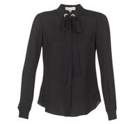 衣服 女士 女士上衣/罩衫 Michael by Michael Kors GROMMET NK TIE BLSE 黑色