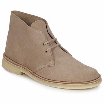 鞋子 男士 短筒靴 Clarks 其乐 DESERT BOOT 沙色