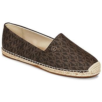 鞋子 女士 帆布便鞋 Michael by Michael Kors KENDRICK SLIP ON 棕色
