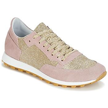 鞋子 女士 球鞋基本款 Yurban CROUTA 玫瑰色 / 金色