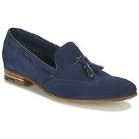 鞋子 男士 皮便鞋 Barker RAY 海蓝色