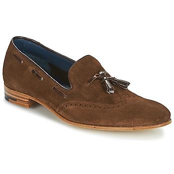 鞋子 男士 皮便鞋 Barker RAY 棕色