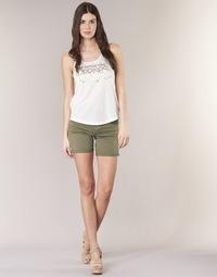 衣服 女士 短裤&百慕大短裤 Le Temps des Cerises RAIPORT 卡其色