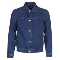 衣服 男士 牛仔外套 Tommy Jeans TJM STREET TRUCKER JKT 蓝色 / Edium