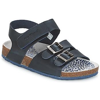 鞋子 男孩 凉鞋 Kickers MAGINATION 海蓝色
